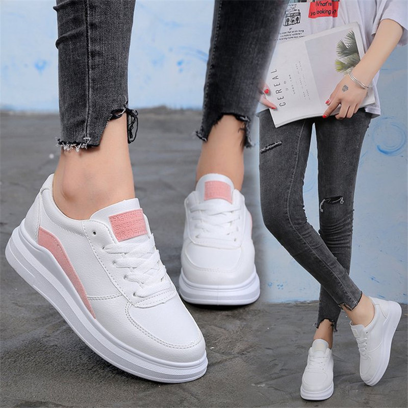 High Quality Wedges White Shoes Female Platform Sneakers Women Zapatos De Mujer Casual Female Shoes Woman