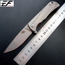 High quality CH3001 folding knife AUS-8 steel blade TC4 titanium alloy handle outdoor hunting survival hand EDC tools цены онлайн