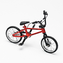 Diecasts & Toy Vehicles Mini-finger Bike Alloy Finger Functional Kids Bicycle Bike Model Quality Gift Creative Simulation Toys