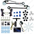 24V Car/Truck Universal 2-Doors Electric Power Window Kits with 3pcs/Set Switches and Harness #FD-1420