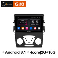 Android 8.1 Unit Intelligent GPS Navigator DVD Radio Multimedia player FOR FORD MONDEO 2013 2014 2015 2016 2017 Car audio stereo