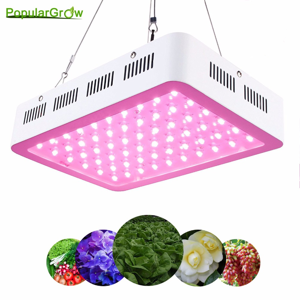 Best Full Spectrum 300W/60X5W led grow light for personal hydroponics indoor greenhouse Grow Tent box plant growth LED Lamp