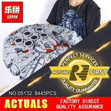 Лепин 05132 Новый 8445 шт. STAR Ultimate коллекционный Разрушитель серии строительные блоки кирпичи детей 75192 рождественские подарки войны