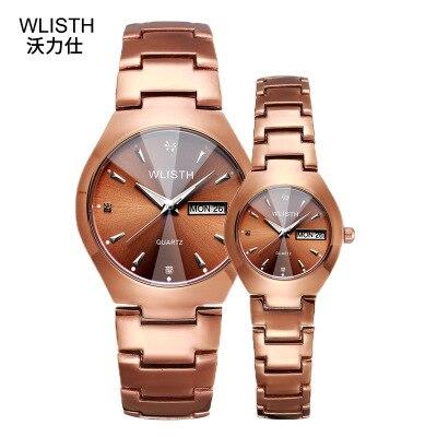 2019 Fashion Brand Stell Strap Unisex Watches Men Watch Quartz Women Watch Couple Watch Gift Of Lover Wristwatch Reloj De Pareja
