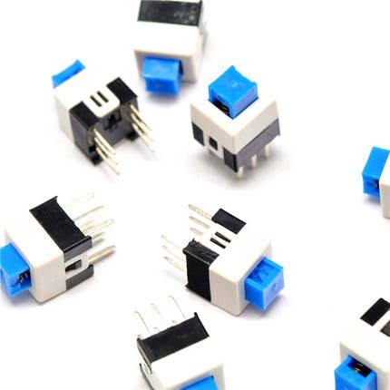 1000PCS LOT 7 7MM flat head self locking switch double 6 feet dedicated charger