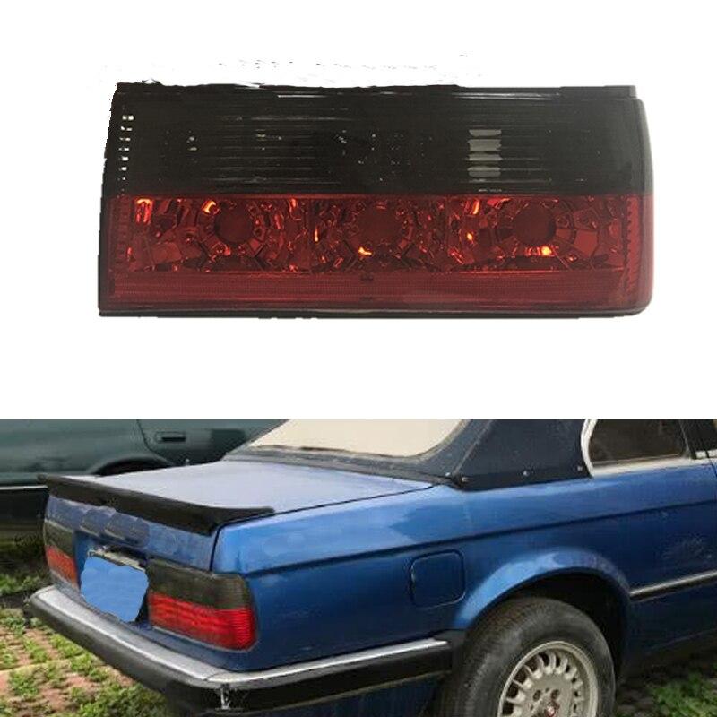 MZORANGE nouveau feu arrière fumé pour BMW E30 M40 318i 320i 325i 1983-1991 feux arrière de pare-chocs arrière feu de frein arrière lampe Style de voiture