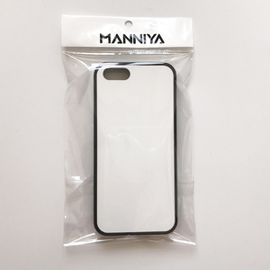 Image 4 - MANNIYA 2D Sublimation Blank rubber TPU+PC Case for iphone 5/5S/SE with Aluminum Inserts and Glue Free Shipping! 100pcs/lot
