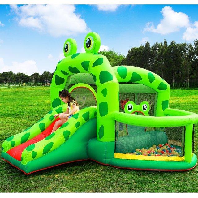 Aliexpresscom Buy New Cartoon Mini Inflatable Castle Pool Slider