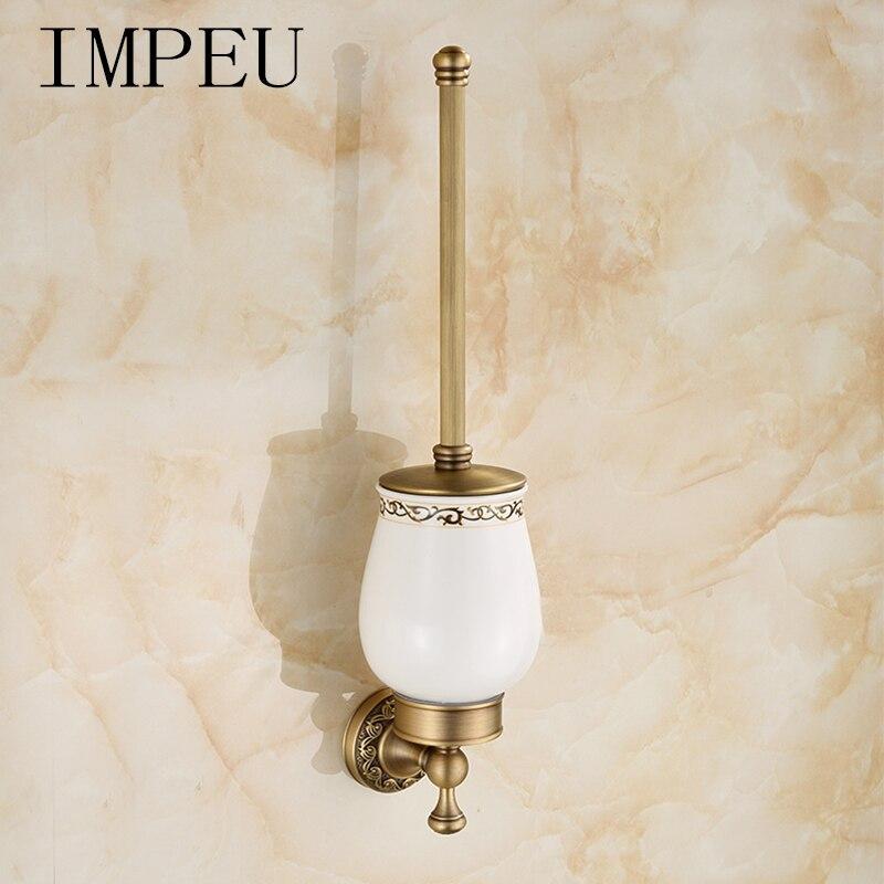 Porte-brosse de toilette de luxe, Style Royal européen traditionnel, accessoires de salle de bain pour la maison/hôtel/Motel, Collection Designer
