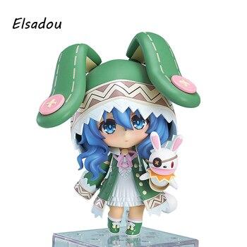 DATE A LIVE PVC Action Figures Nendoroid Toys Yoshino Tokisaki Kurumi Yotogami Tohka Itsuka Kotori