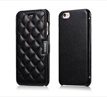 Оригинал XOOMZ марки case Для iphone 6 plus лучше Реального Подлинной Кожаный чехол раскладной телефон Case для iphone6 plus 5.5 дюймов