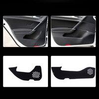 4pcs Fabric Door Protection Mats Anti kick Decorative Pads For Volkswagen Golf 7 2014 2015