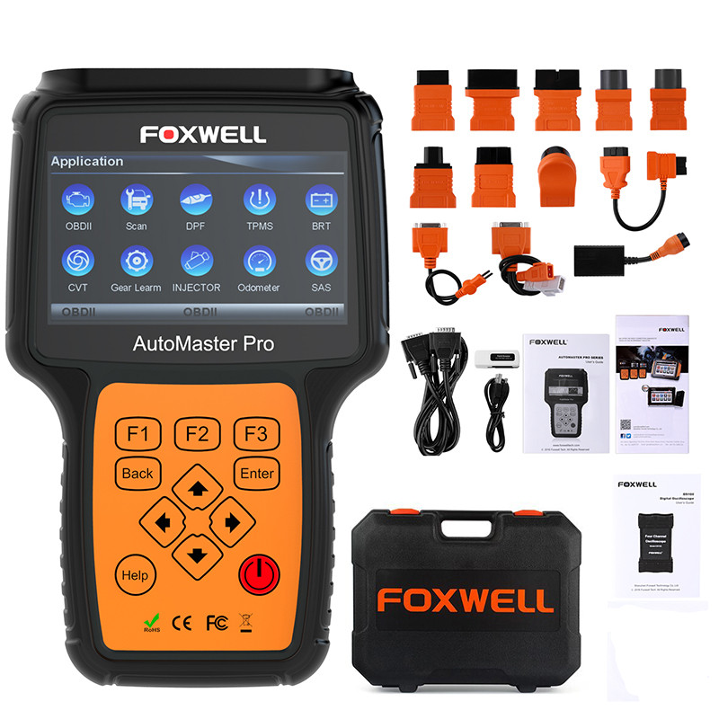 Image 5 - FOXWELL NT644 Pro Automotive OBD 2 Scanner Oil Light Reset ABS SRS DPF EPB SAS BRT TPS TPMS Full System OBD Car Diagnostic Tool-in Engine Analyzer from Automobiles & Motorcycles on