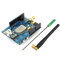 New Development Shield A6 GPRS GSM Shield For Arduino With GSM Antenna A6 Efficient Chip DIY