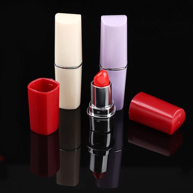 Mode rouge à lèvres cachette secrète Diversion sûre dissimuler compartiment caché faux pilule boîte couleur aléatoire médecine conteneur organisateur