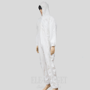 Image 3 - Disposable Waterproof Oil Resistant Protective Coverall For Spary Painting Decorating Clothes Overall Suit L/XL/XXL/XXXL