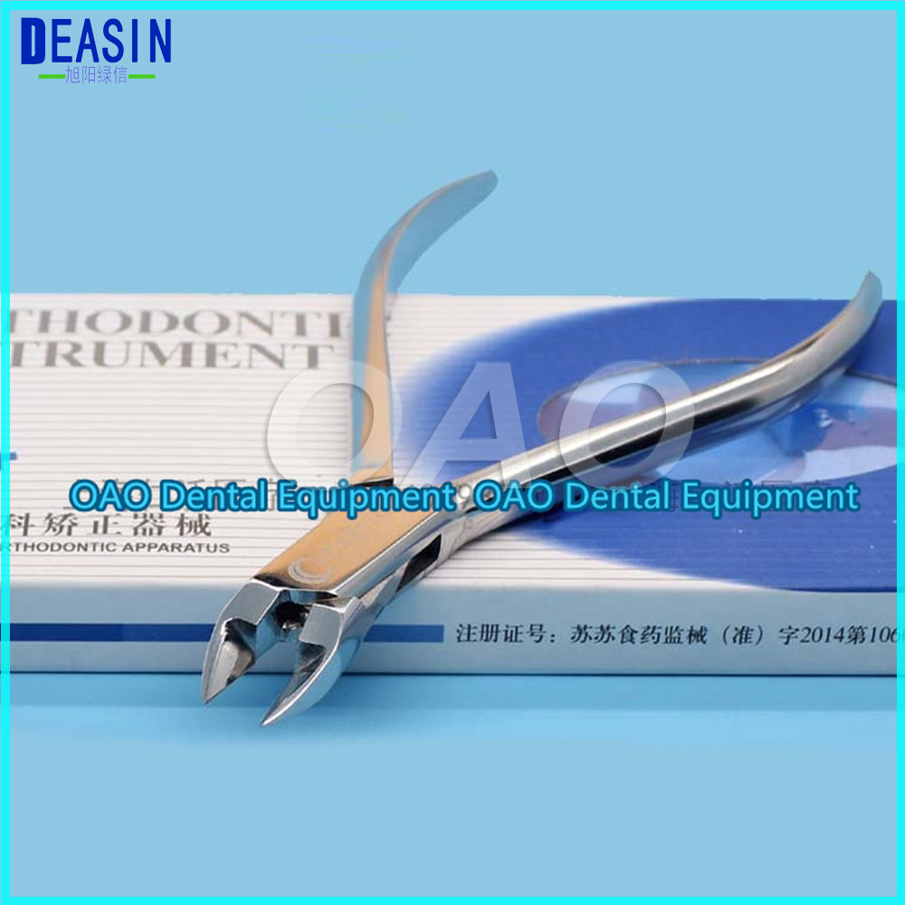 Good quality Good Quality Dental orthodontic wire filament bending clamp pliers correction tape cutting inlaid tungsten steel good quality atx 6853