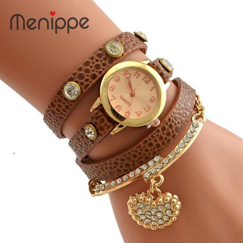 2020 Hot Sale Fashion Luxury Heart Pendant Women Watches Women Bracelet Watch Women Wristwatches Women Dress Quartz Watch Reloj