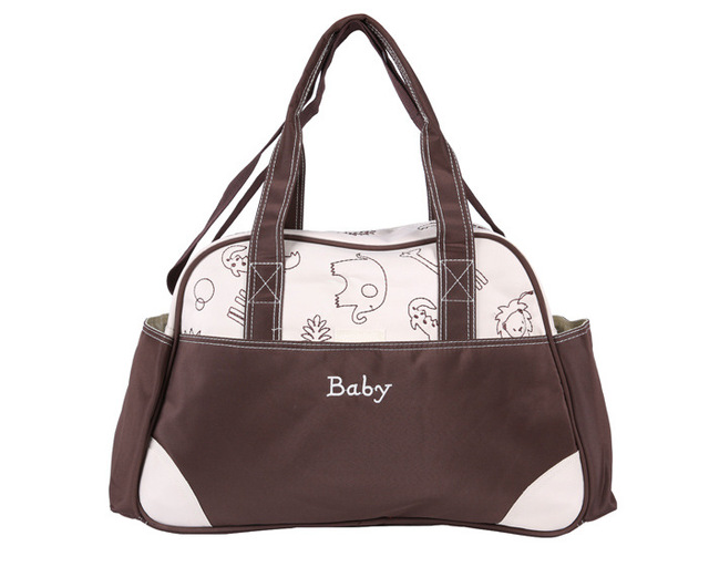 e652b6fa68d80 Fashion MultiColored Tote Nappy Bags Cross-body Multifunctional Mummy Bags  Maternity Shoulder Diaper Bags Dollar