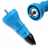 Mayitr Cordless Electric Rivet Nut Gun Riveting Tool Electrical Drill Adaptor Insert Nut Adapter Power Tools