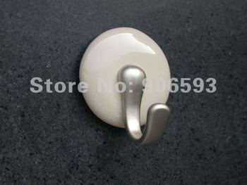Lote de 10 Uds. Envío Gratis crema porcelana blanca 3M gancho adhesivo, gancho para baño, gancho para abrigo