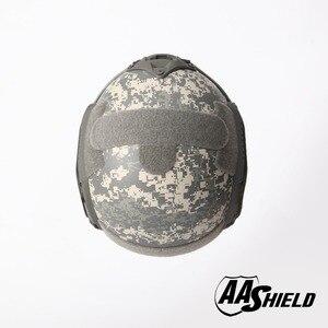 Image 3 - AA מגן בליסטי ACH גבוהה לחתוך טקטי TeijinHelmet Bulletproof מהיר ארמיד בטיחות NIJ רמת IIIA צבאי צבא ACU