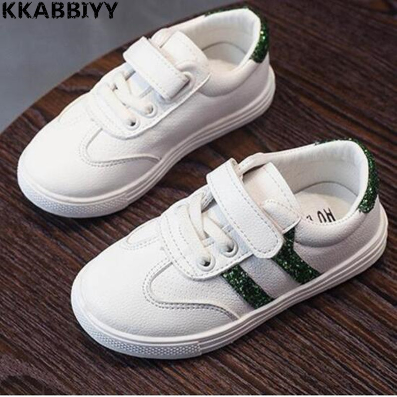 New Children Leather Shoes For Boys Dress Shoes Black Flat Dancing Wedding PU Leather School Students Shoes Kids
