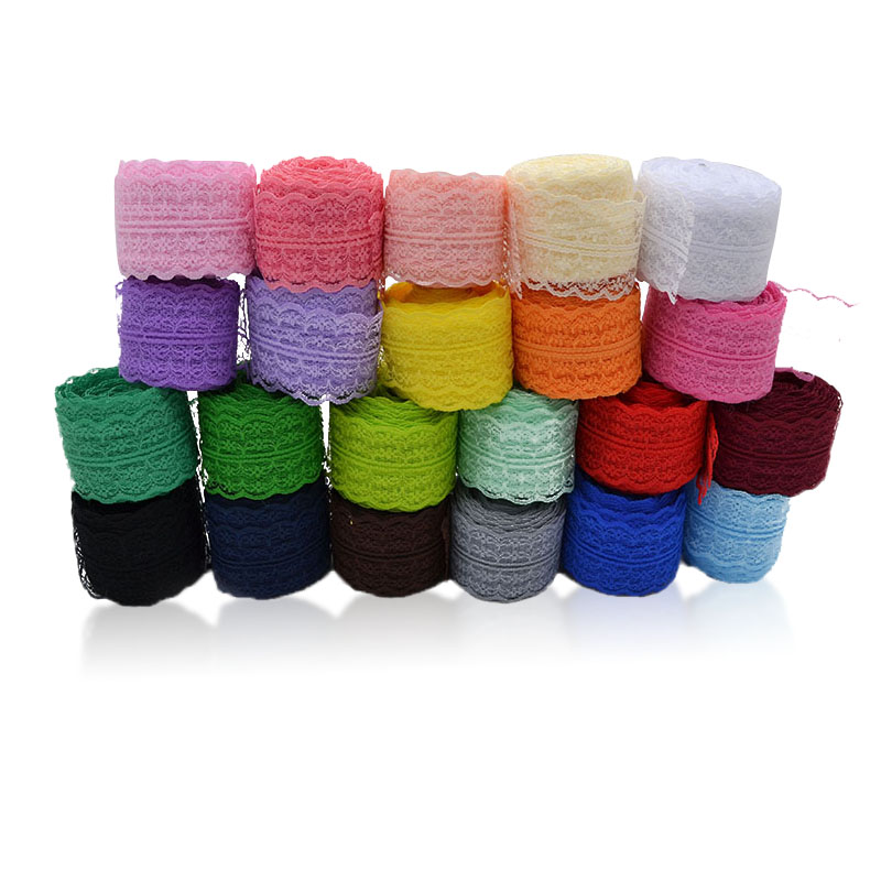 10m*45mm Lace Ribbon Lace Trim Fabric DIY Embroidered Lace Trimmings For Sewing Accessories Patchwork Decoration