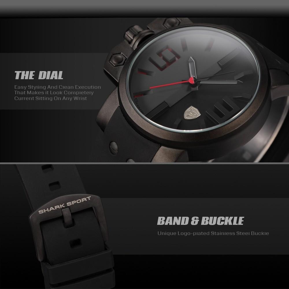 Salmon SHARK Sport Wrist Watches - Red | Upbuyers Nigeria