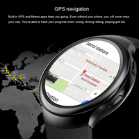 LEMFO LES2 Smart Watches Smartwatch Android 1GB + 16GB Watch Phone Heart Rate Monitor GPS Wifi Bluetooth Wristwatch 3