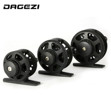 DAGEZI ultra-light 3 size ice fishing Reel black Plastic fishing wheel 1BB ratio 1:1 fly fishing reel Fishing Tackle