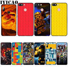 Lego blocks Newly Arrived Transparent Silicone Soft Case for Xiaomi Redmi 6A 5A Note 8 7 4 4X 5 Plus 6 Pro Black TPU Cover(China)