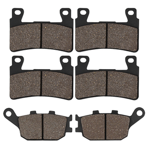 Motorcycle Front & Rear Brake Pads For HONDA CBR 600 F4 F4i CBR929 CBR954 FIREBLADE CBR900 RR VTR 1000 SP-1 (SP45) CB1300(China)