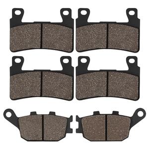 Motorcycle Front & Rear Brake Pads For HONDA CBR 600 F4 F4i CBR929 CBR954 FIREBLADE CBR900 RR VTR 1000 SP-1 (SP45) CB1300(China)