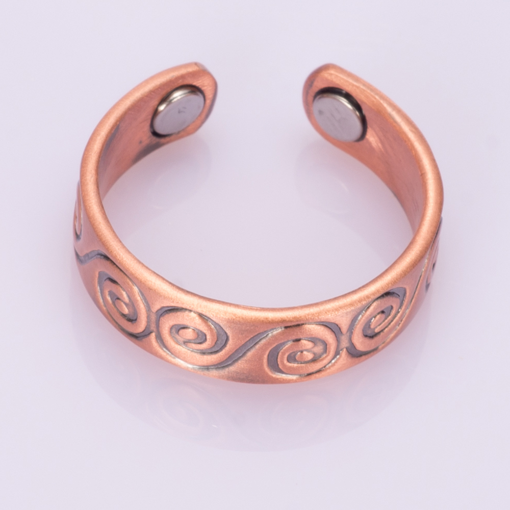 magnetic rings ring copper style taos