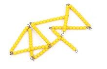 Bebé de Juguete Montessori 10 Cadena Cadena de Cuentas 100 Unids Matemáticas Formación Preescolar Educación de La Primera Infancia Juguetes Para Niños Brinquedos juguetes