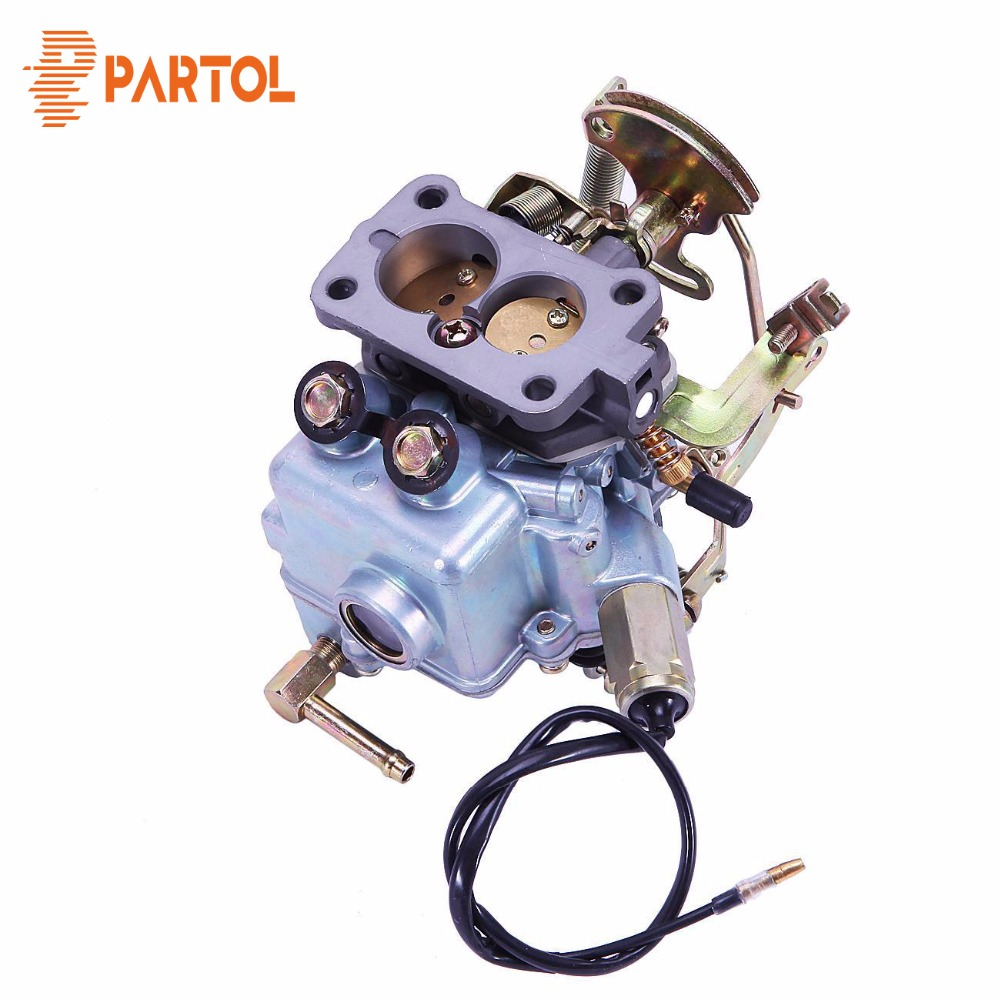 Partol New Car Manual Choke Carburetor Carb Engine Assembly Replacement Parts Auto Carburetor for Nissan A14 engine 1975-1978 carburetor carb for nissan a12 cherry pulsar vanette truck datsun sunny b210 pulsar truck 16010 h1602 16010h1602 16010 h1602