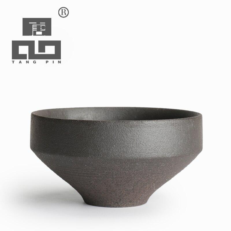 TANGPIN ceramic matcha bowls ceramic tea accessories chinese kung fu tea set drinkware drinkware     - title=