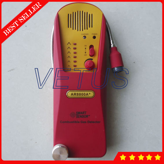 AR8800A+ Handheld Combustible Gas Leak Detector Meter TesterAR8800A+ Handheld Combustible Gas Leak Detector Meter Tester