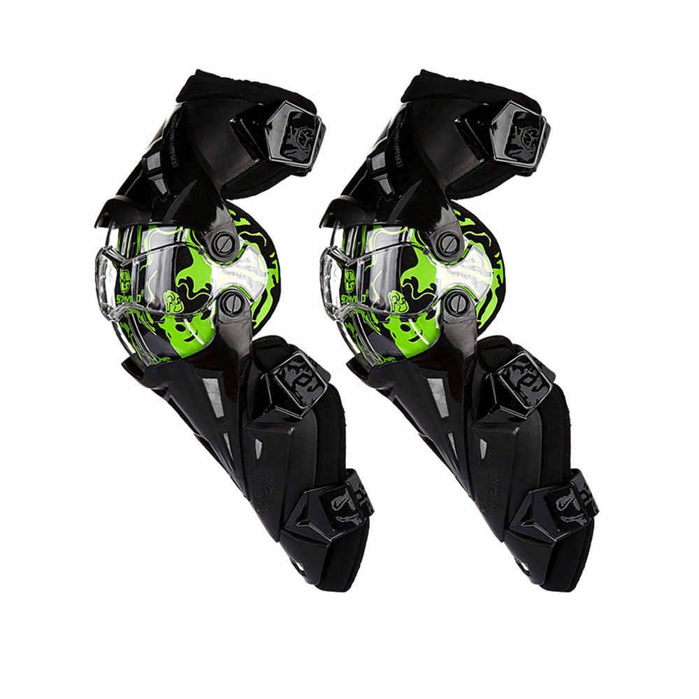 Scoyco motocicleta protetor de joelho duro colisão evitar motocross moto joelho protetor de apoio ciclismo joelho shin guard