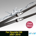 "Wiper blade for Hyundai I30 (2007-2010) 24""+18"" fit push button type wiper arms only HY-011"