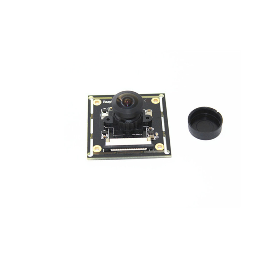 Image 5 - Raspberry Pi 3 B+ Camera Module OV5647 Fish Eyes Wide Angle Camera Focal Adjustable for Doorbell Monitoring Camera Module-in Demo Board Accessories from Computer & Office