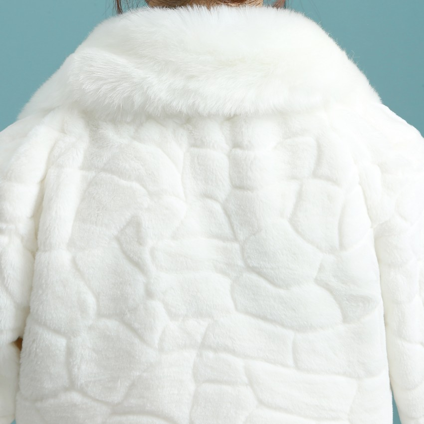 4cd2dfbee Marfil elegante de Invierno Novia De La Boda Del Cabo Chaquetas Chaquetas  Bolero Para Vestidos de Noche Nupcial de La Boda Chal de Piel Sintética en  Capas y ...