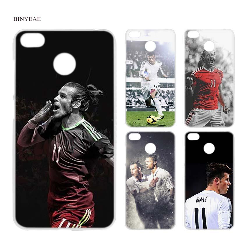 BINYEAE Gareth Bale GB11 Clear Hard Case Cover Shell for Xiaomi MI A2 A1 5X 6X Redmi Note 4X 4 4A 5 Plus