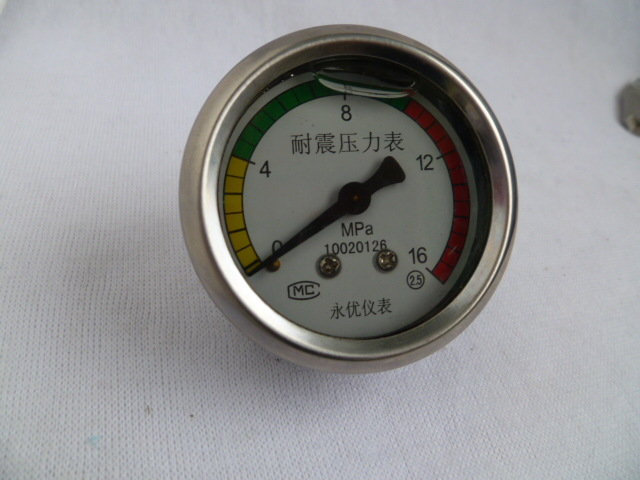 High Pressure Washer Accessories / Car Wash / Brush Pump / Type 280/380 Type 55 Type 58 Type 40 Seismic Pressure Gauge