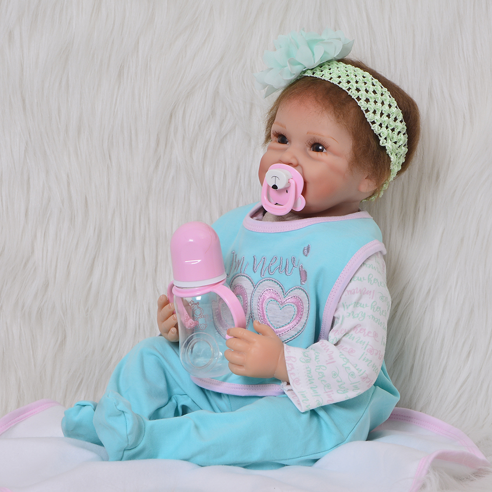 22inch reborn baby doll toy newborn girl babies princess doll birthday holiday gift bedtime play house birthday present for sale22inch reborn baby doll toy newborn girl babies princess doll birthday holiday gift bedtime play house birthday present for sale