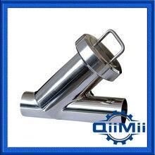 1 »Сварные Санитарно фильтр, фильтр фильтры, Y-образного типа, Прямой Фильтрации, Оборудование Для фильтрации, сталь фильтр