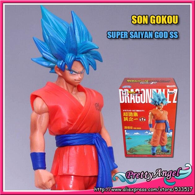 Figurine Dragon Ball Z-  WCF vol.1 resurrection of F Goku super saiyan god