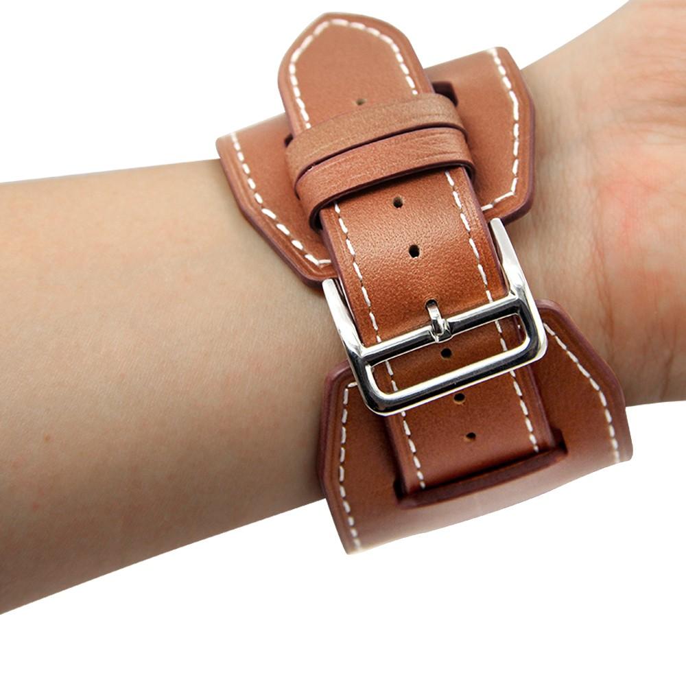 Apple Watch Cuff bracelet Brown 3