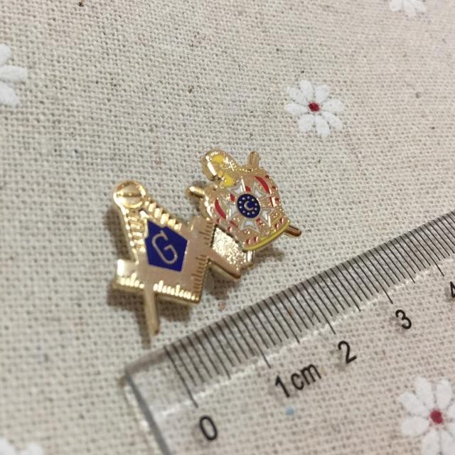 100pcs mason freemason INTERNATIONAL ORDER OF DeMOLAY masonic square and compass  lapel pin badges and brooch for the lodge 250af1cd2b14